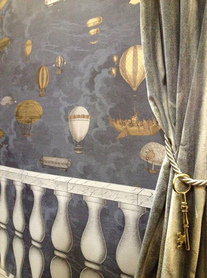 pingl par au fil des couleurs sur papier peint cabinet. Black Bedroom Furniture Sets. Home Design Ideas