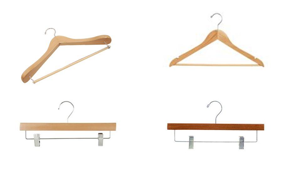 Wooden Hangers Toronto, Canada - http://idealdisplays.ca/07_hangers.html