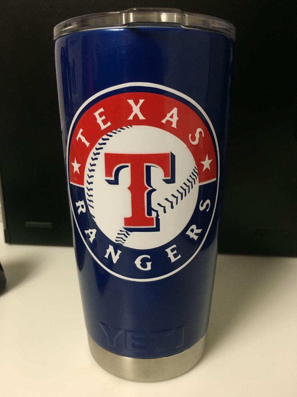 Texas Rangers Yeti Cup Mild2wildhydro Com Custom Cups Glitter Tumbler Cups Cup Design