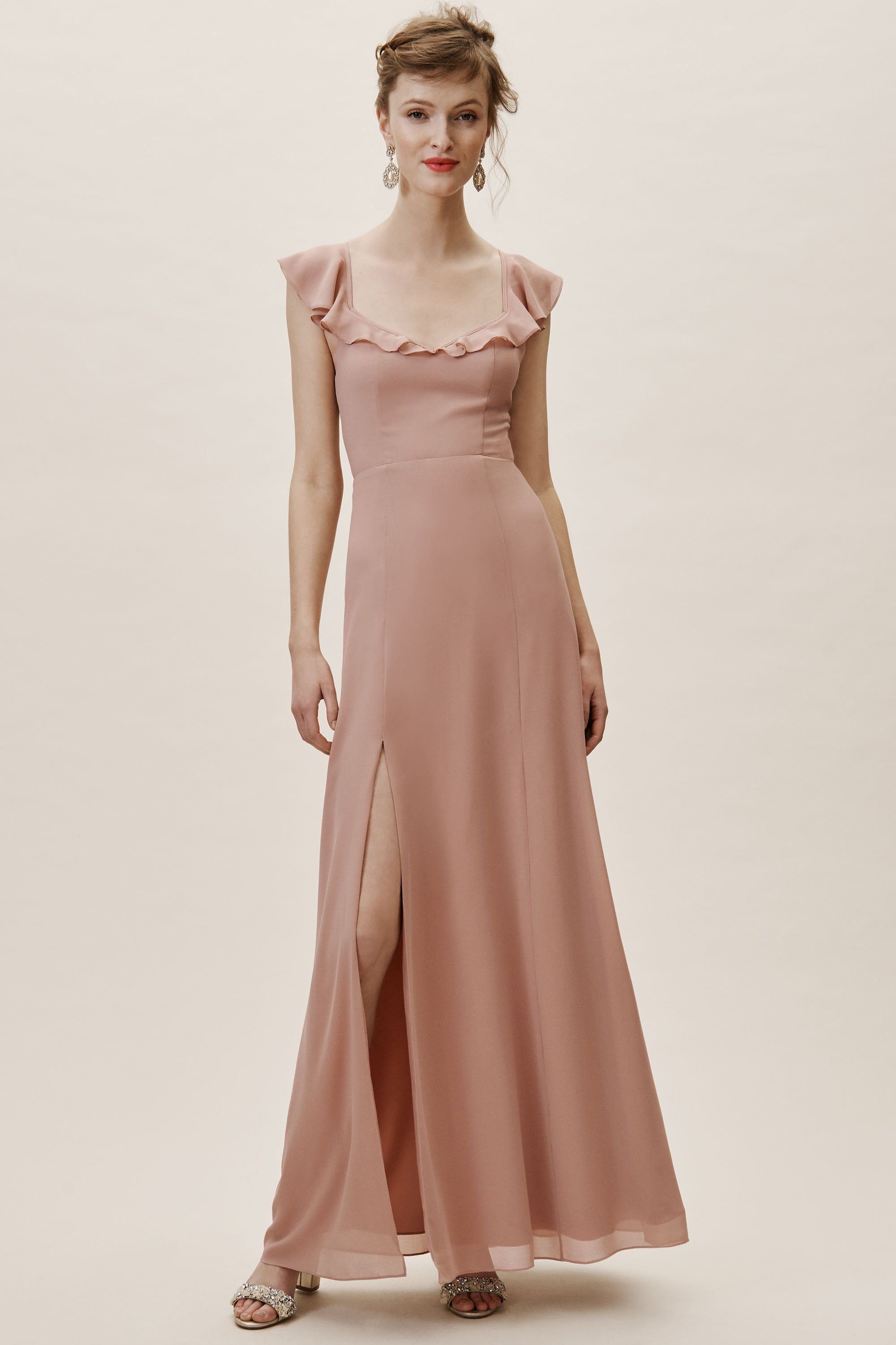 2b82f120867 Diana Dress Whipped Apricot in Bridesmaids   Bridal Party