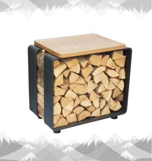 kaminholz regal als hocker brennholz lagern regal holz und holzregal. Black Bedroom Furniture Sets. Home Design Ideas