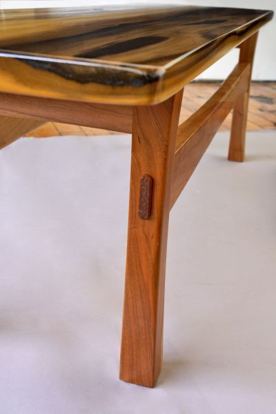 Furniture Designer R Chamberlin Utilizes Mortise And Tenon Jointery A Technique First Mastered By Masons Of The Paleolithic Era