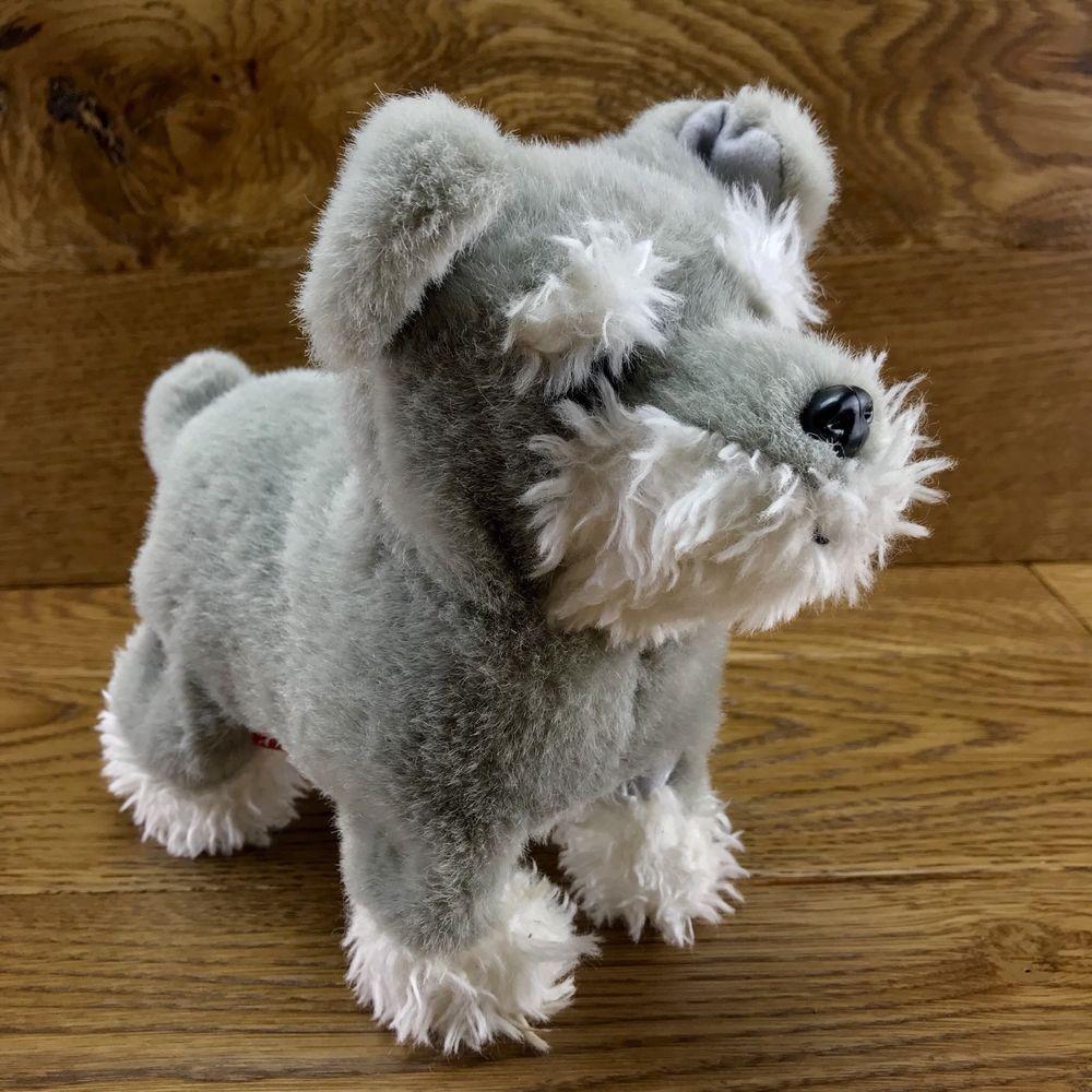 Hamleys Flip Puppy Dog Electronic Toy Pet Walks Barks Sits Flips