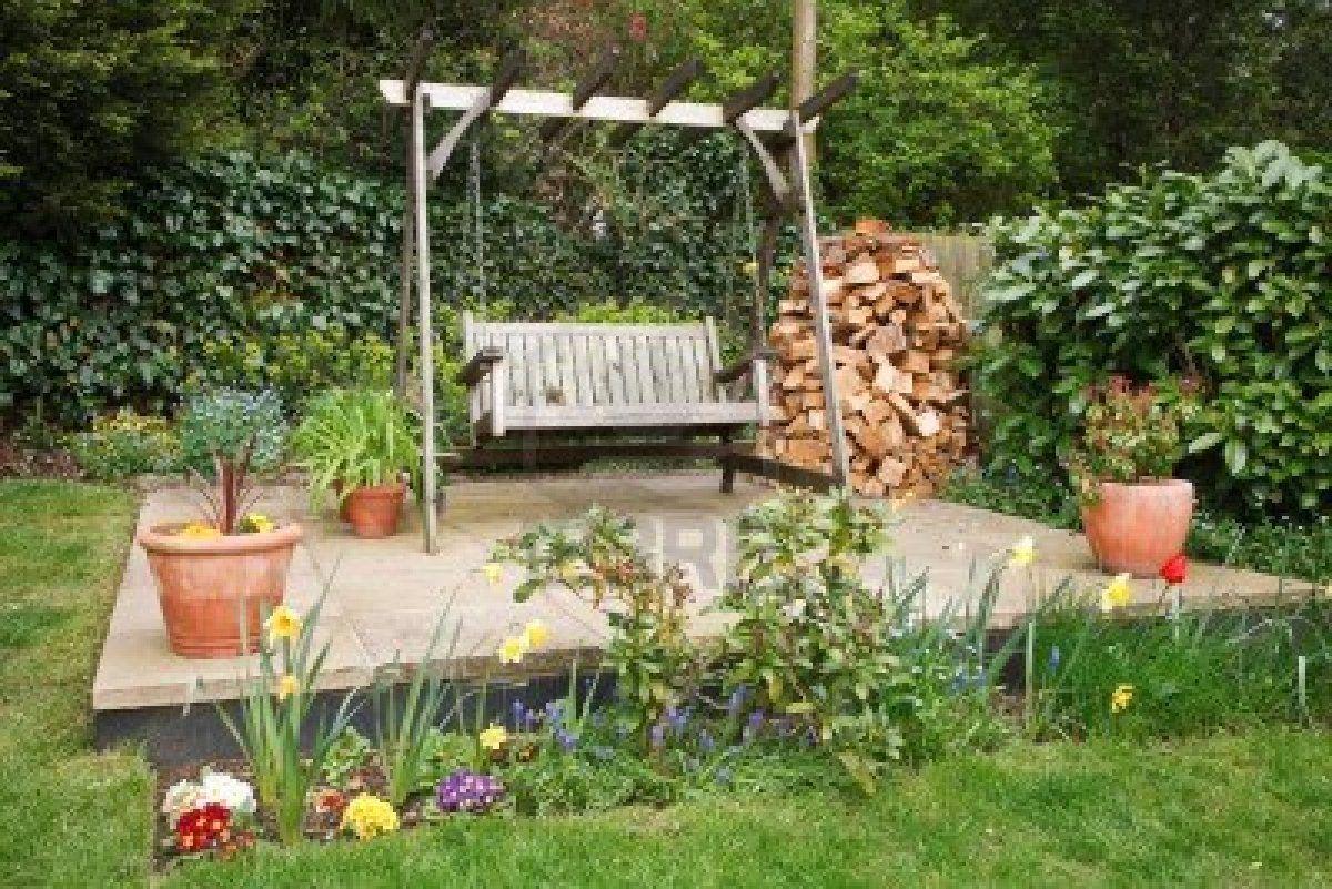 Relax in a backyard swing home outside pinterest backyard