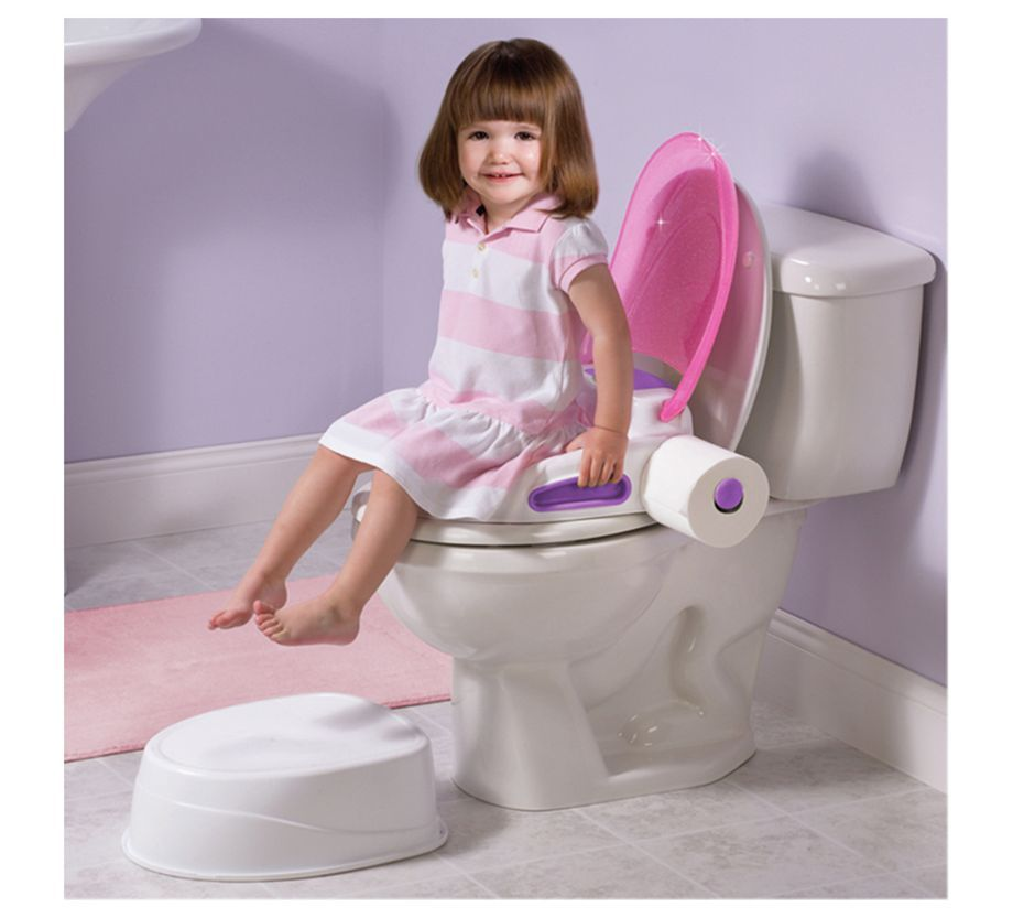 Summer Infant Step by Potty Pink Girl Potty Training