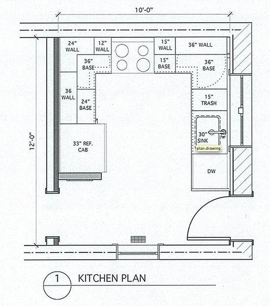 Small U Shaped Kitchen Kitchen Layout Plans Small Kitchen