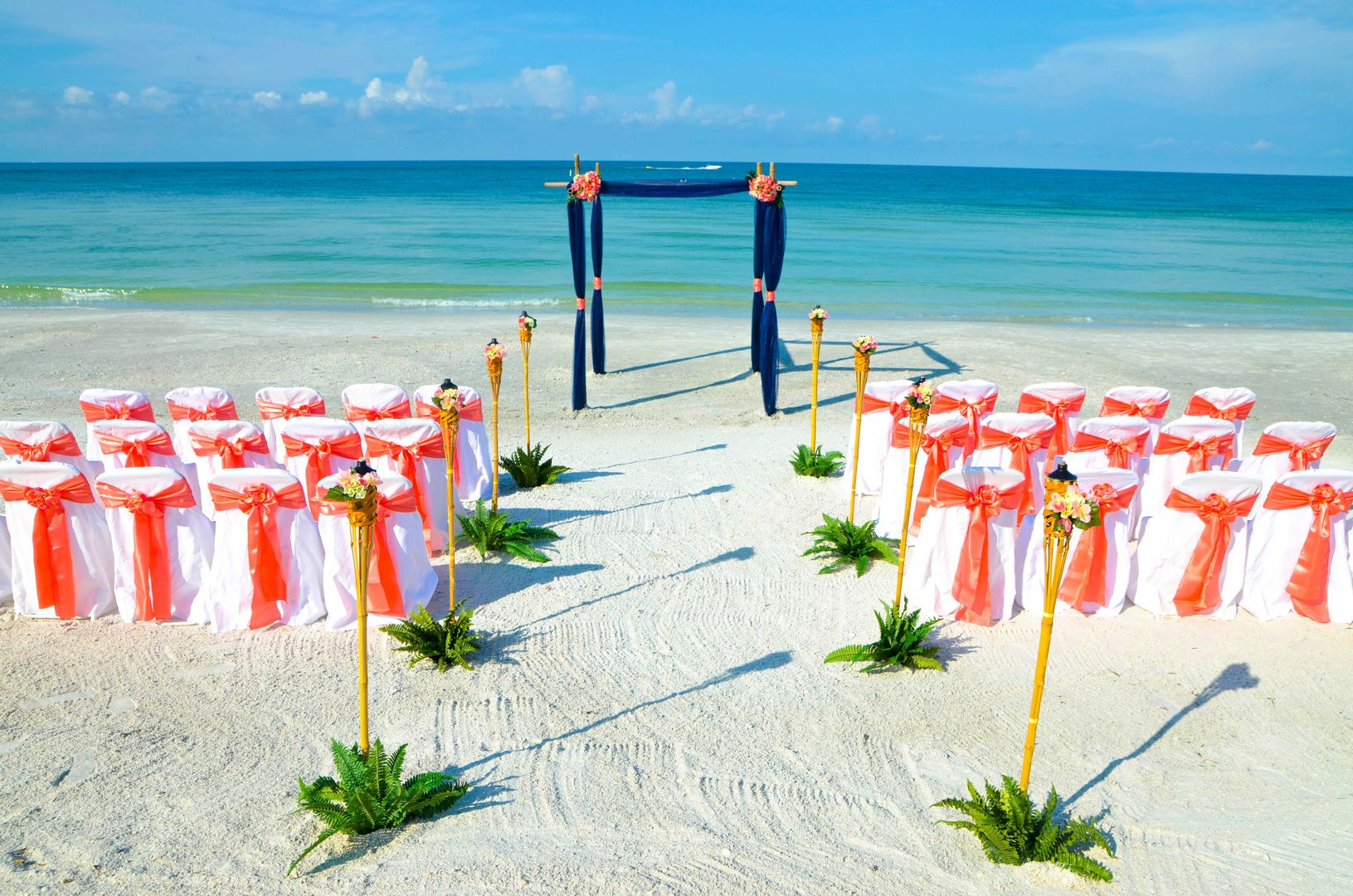 All Inclusive Florida Beach Wedding Packages at Romantic