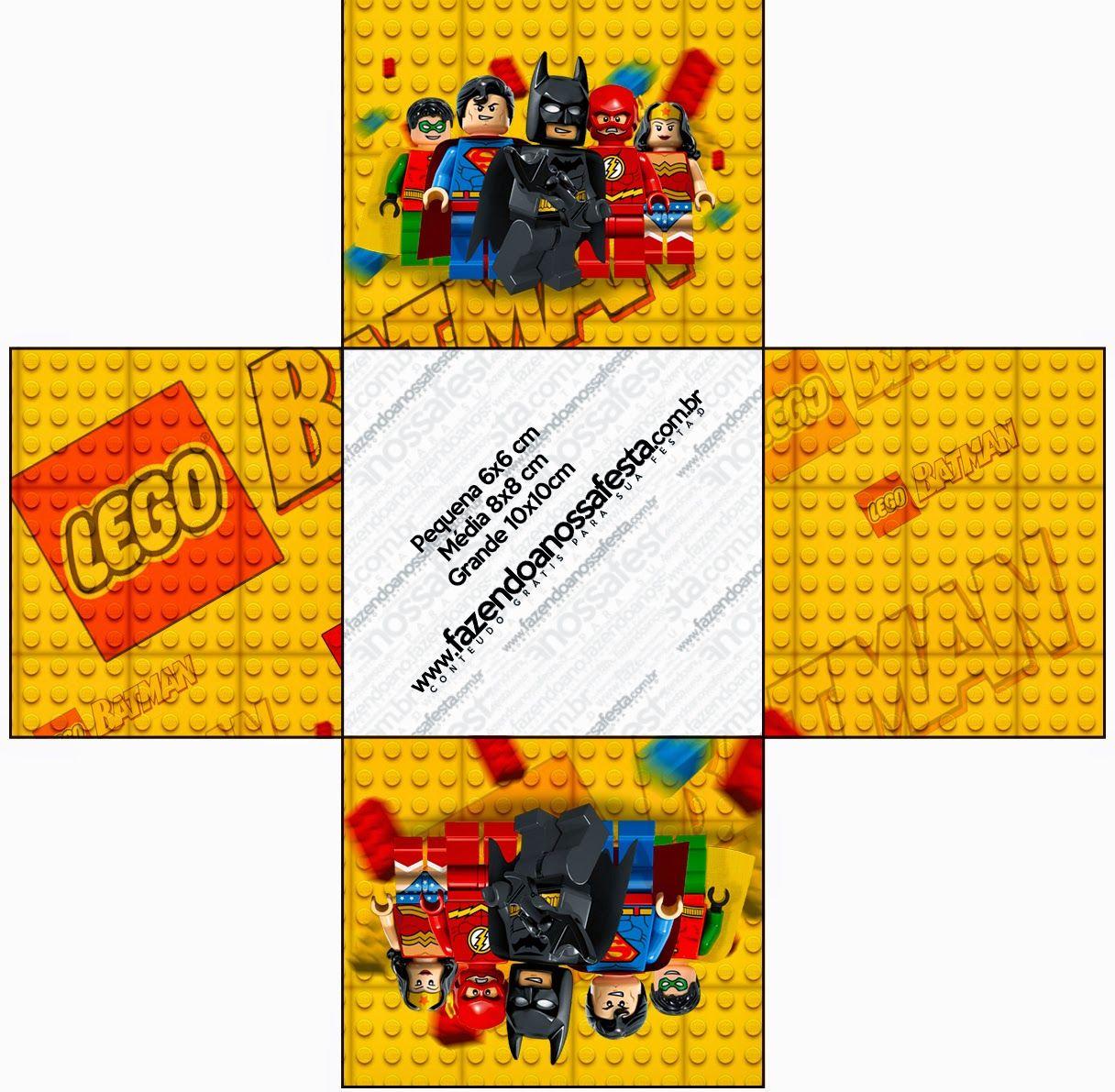 Lego Película: Cajas para Imprimir Gratis. | Ideas y material gratis ...