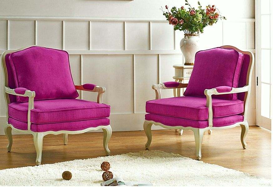 Fuschia Accent Chair, Shout the Corner of the Room! , Fuschia accent ...