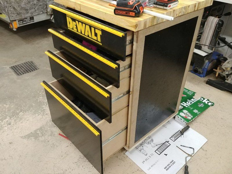 How To Make A Tool Cabinet Workbench Using Reclaimed Wood