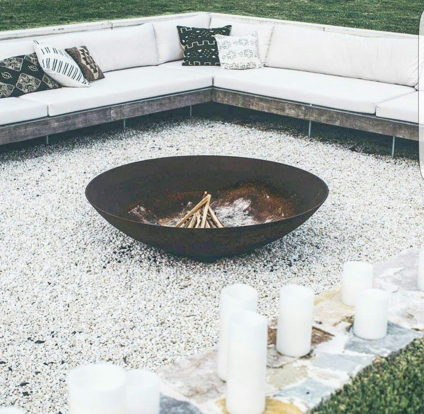 Photo of Firepit at The Grove Byron Bay