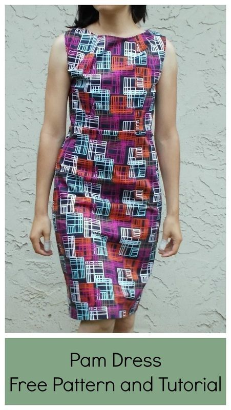 Pam Dress Pattern | Dress patterns, Tutorials and Cuttings
