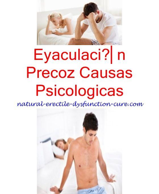 eyaculacion precoz causas psicologicas