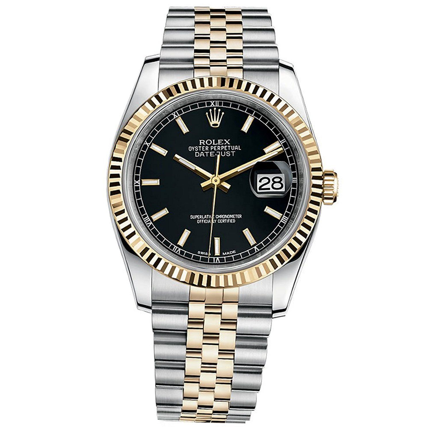 Rolex Datejust 36 Steel Yellow Gold Watch Black Dial 116233 Special Product Just For You See It Now Rolex Datejust Women Rolex Womens Watches