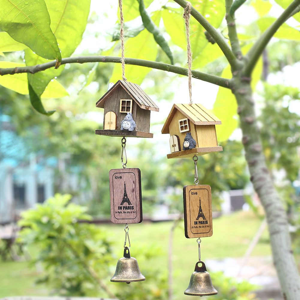Totoro Small Wooden House Decoration //Price: $10.00 & FREE Shipping ...