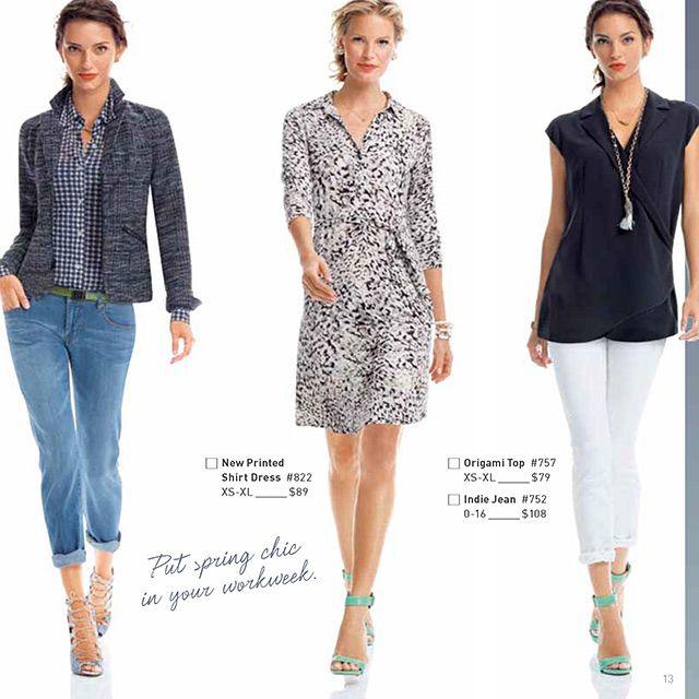 Cabi Spring 2014 Look Book Carol Anderson by Invitation fashion
