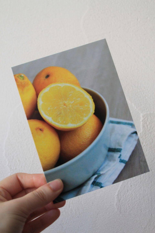 """Carte postale """"Les citrons"""" : Cartes par le-petit-bazar-des-trinomettes-en-delire"""