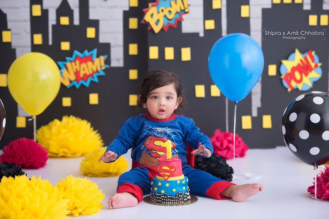 Birthday Decorations For 1 Year Old Baby Boy Google Search Cake Smash Theme Smash Cake Photoshoot Cake Smash