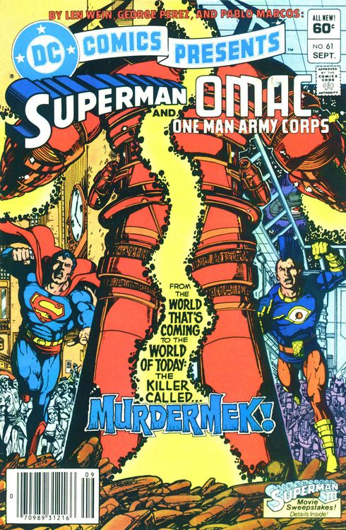 DC Comics Presents #61, September 1983, cover by George Perez.