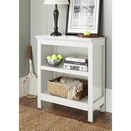 $71.88 Walmart. 10 Spring Street Burlington Collection 2 Shelf Bookcase,  Multiple Colors