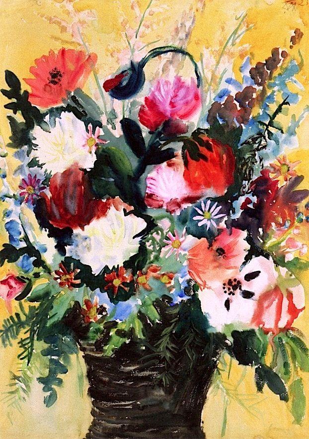 Flowers Otto Dix - 1923