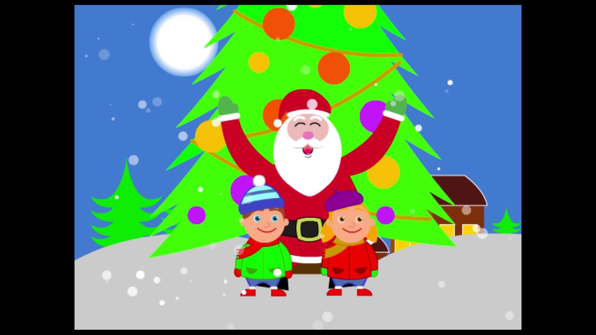 Auguri Di Buon Natale Karaoke.Happy Christmas Buon Natale Canzoni Per Bambini Buon