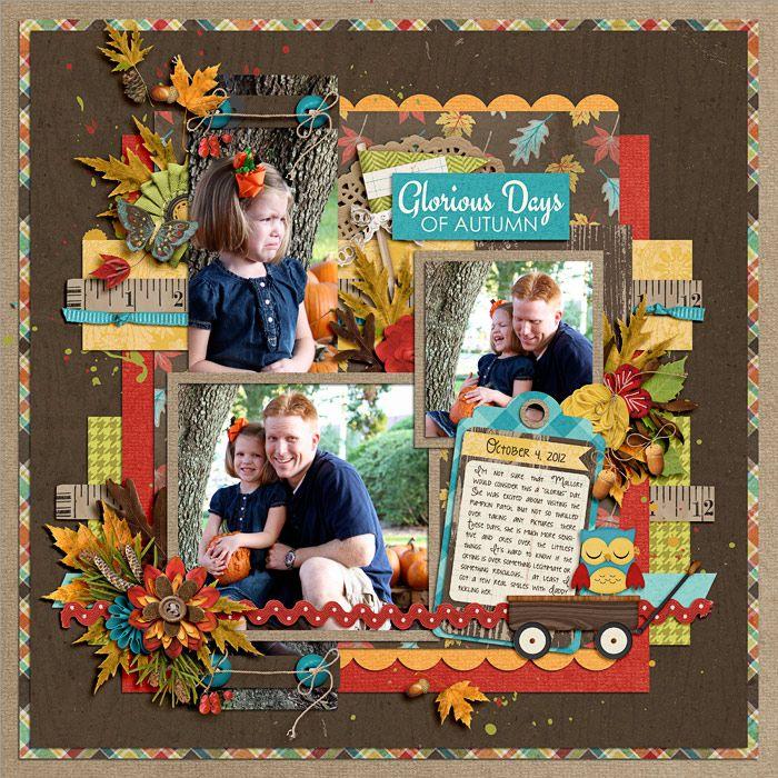 Cindy - set 129 Everyday Storytelling - Autumn by KCB & Jenn Barrette