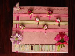 Another great hair clip board.
