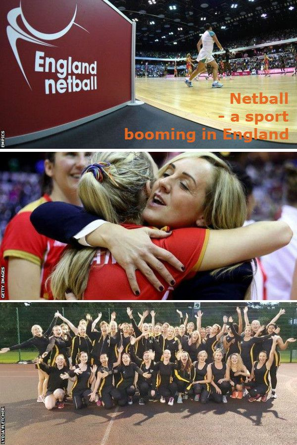 Netball The sport which is seeing a big boom in England
