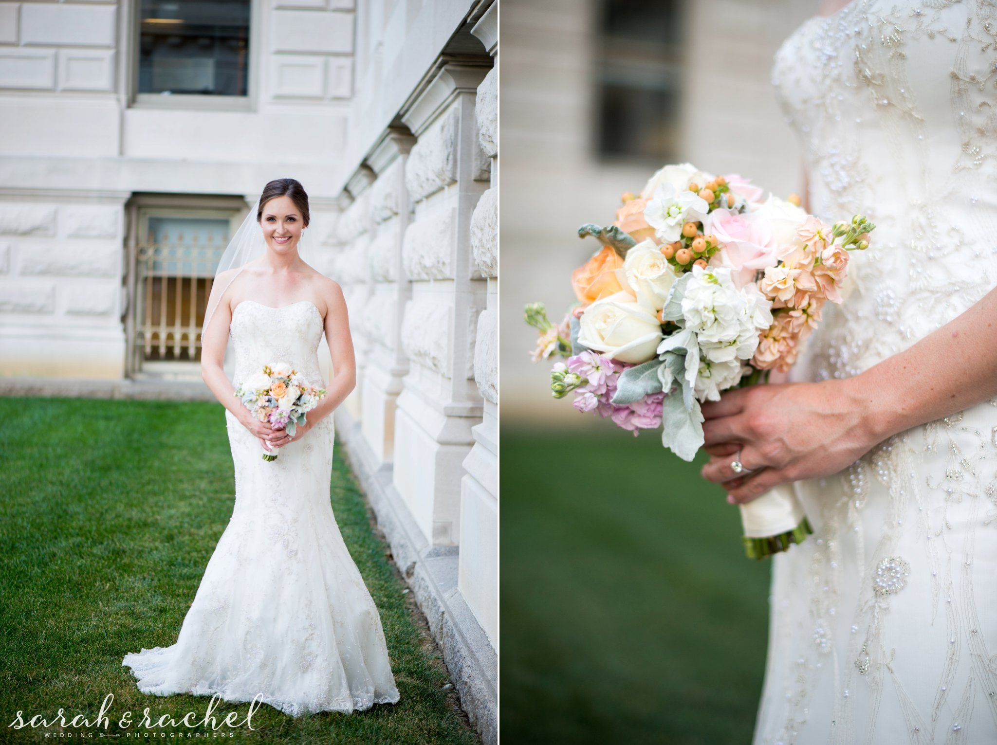 Downtown Indianapolis Bridal Portraits | Lilly Lane Flowers ...