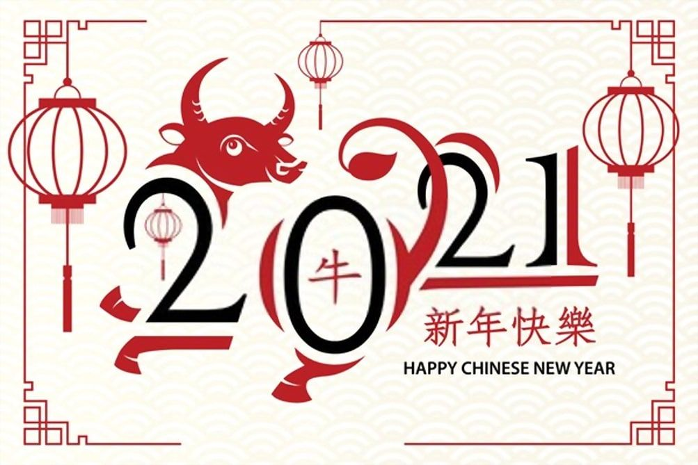 Year of The OX 2021 Images and Wallpaper in 2020 Chinese