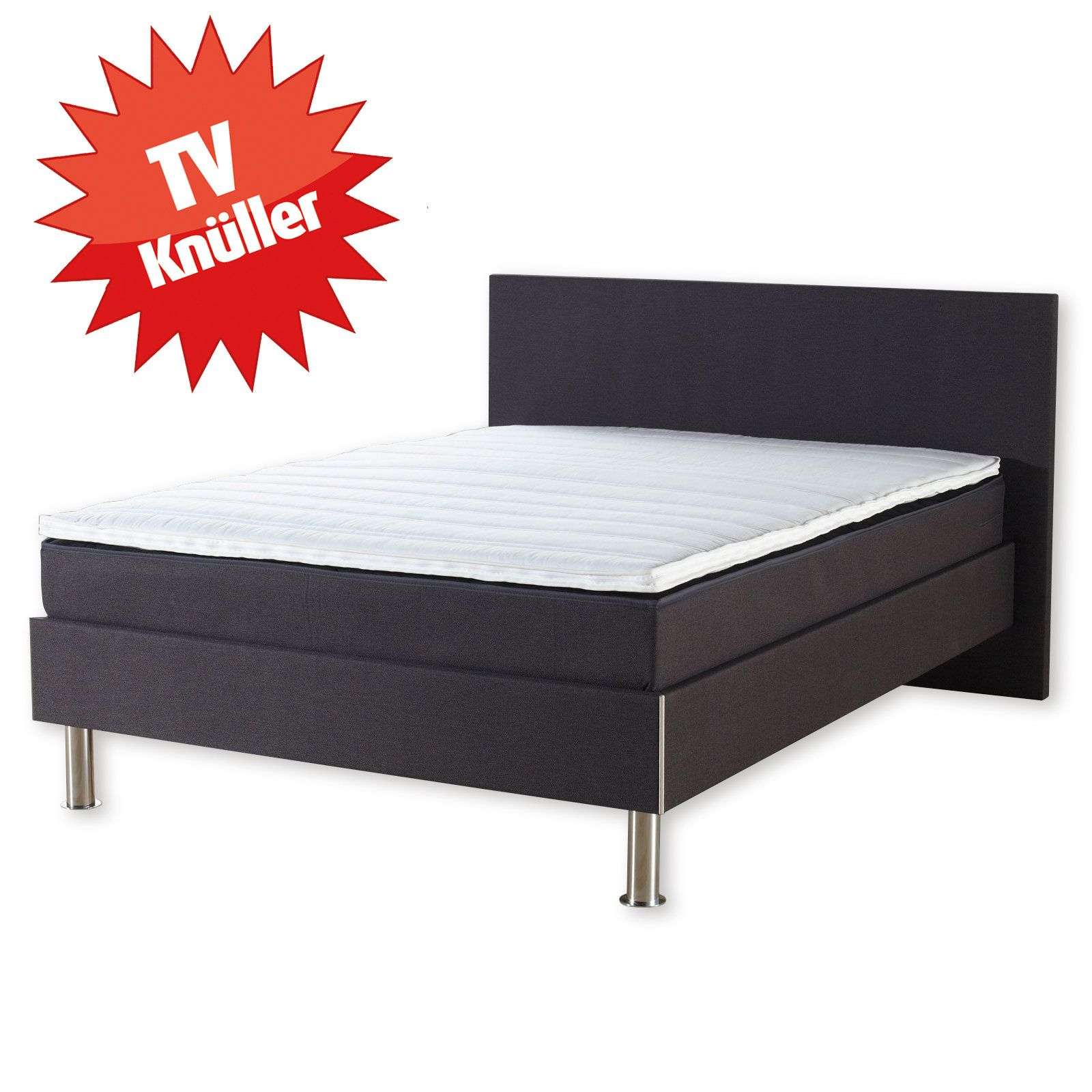 boxspringbett ramona bonell federkern anthrazit 140x200 cm h2 plugin firefox alt. Black Bedroom Furniture Sets. Home Design Ideas