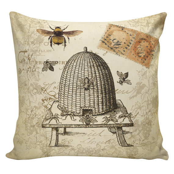 throw pillow cover vintage french
