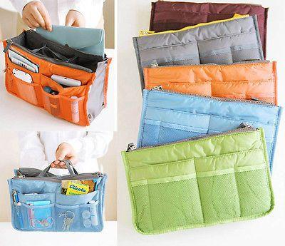$2.69 (Buy here: http://appdeal.ru/8ofz ) Travel Insert Organiser Large liner Sundries Storage Bag Travel Accessory for just $2.69