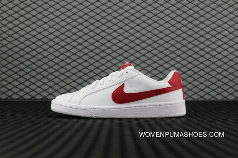 Nike Court Royale Sl 826670 160 White Gym Red Cobblestone Blanc Cailloux Rouge Gym 844802 103 Running Shoes Online