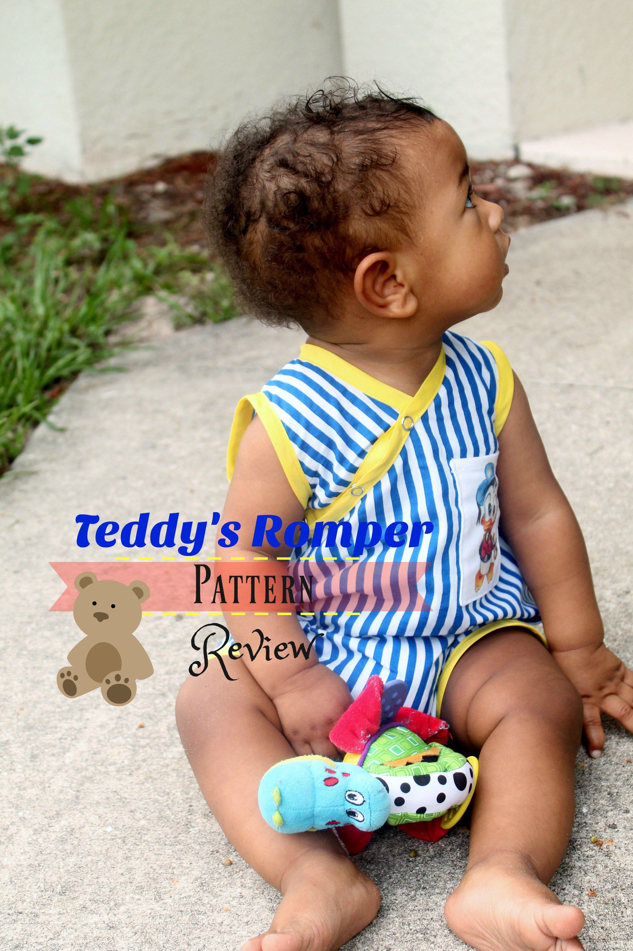 #Puperita Teddy's Romper pattern review!