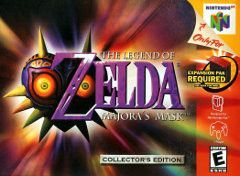 Zelda Majora's Mask Collector's Edition