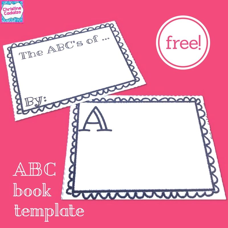 image relating to Printable Abc Book Template titled Cost-free Printable ABC Ebook Freebies :) Preschool science