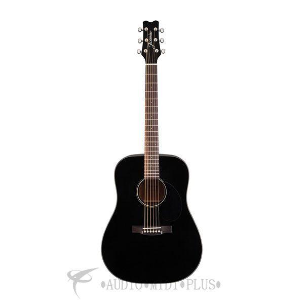 Jasmine Dreadnought Acoustic Guitar Black Jd39 Blk U