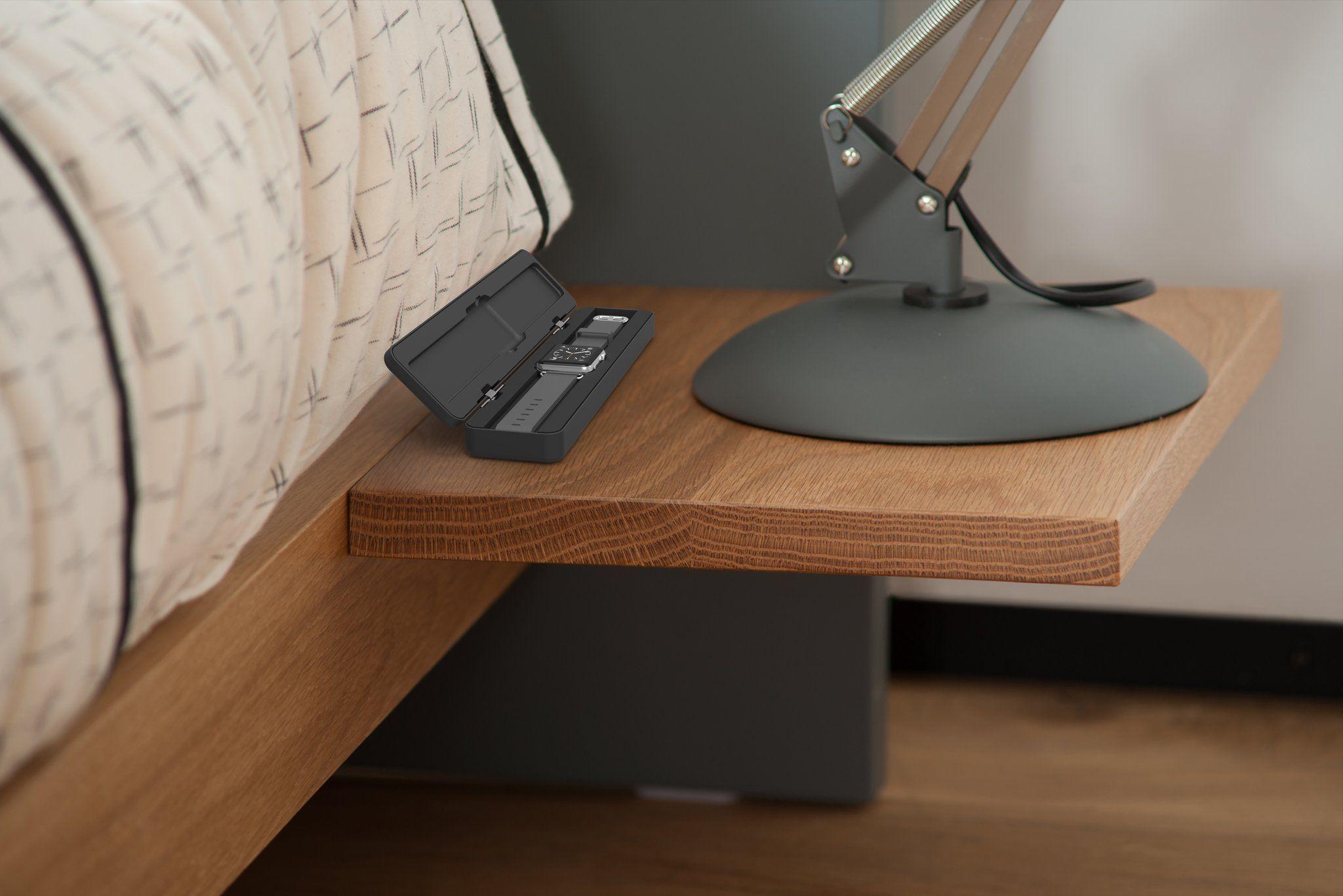 Apple Watch Dock Solid wood bedside tables, Modern