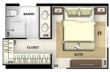 Closet Casal Planta Baixa 41 Super Ideas Master Bedroom Layout