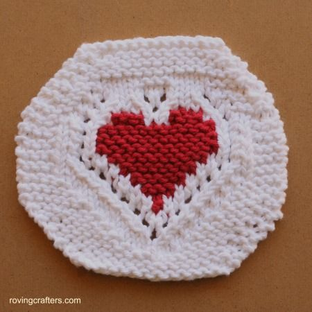Free Hearted A Free Knit Pattern Knitting Freepattern By A