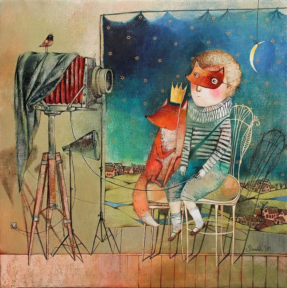 by Anna Silivonchik  the little prince