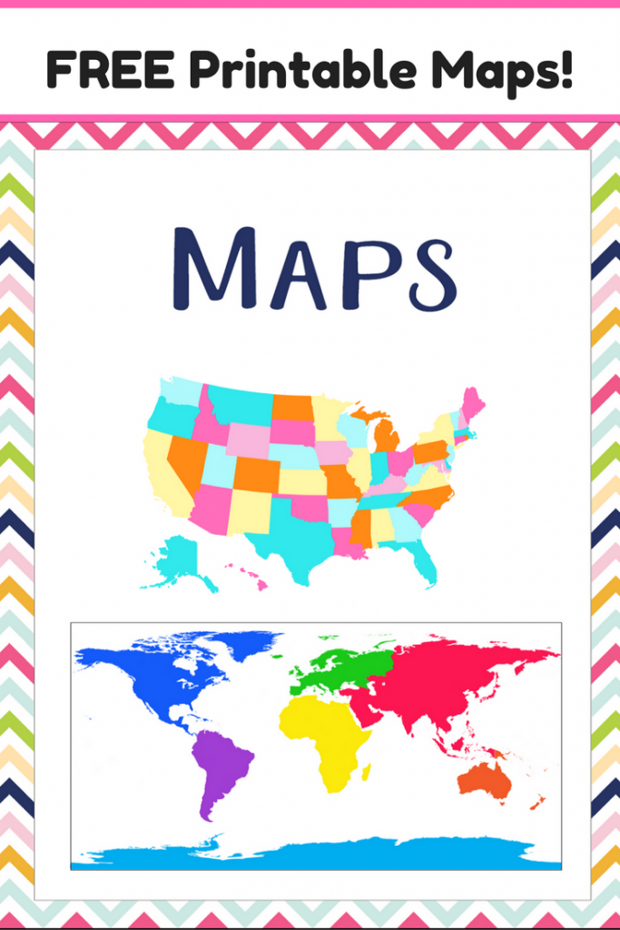 It is a photo of Candid Printable Map Activities