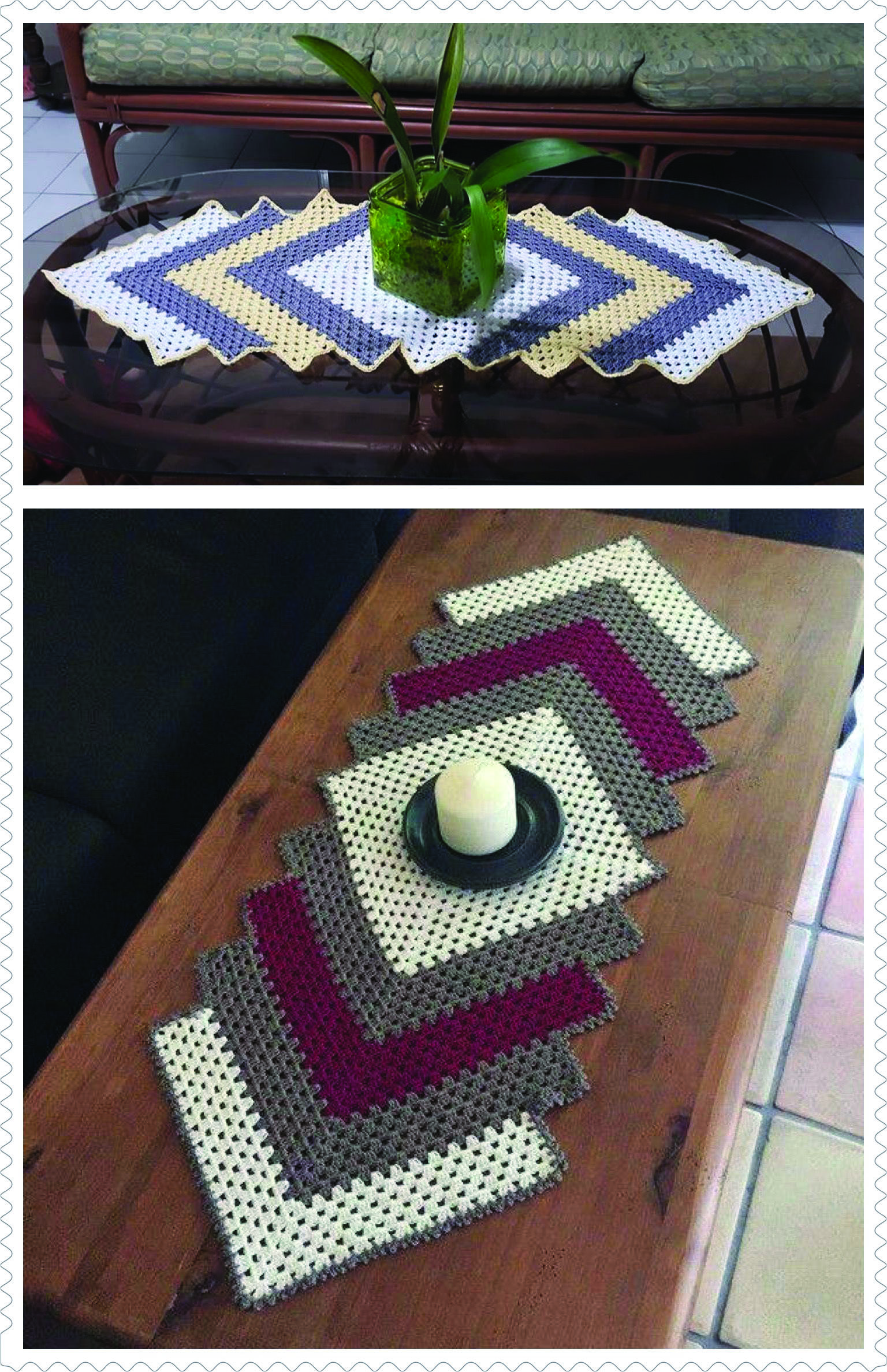 Stylish table runners walmart canada only in