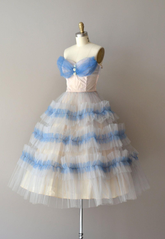 S dress vintage s dress wistful whimsy dress ypsilanti