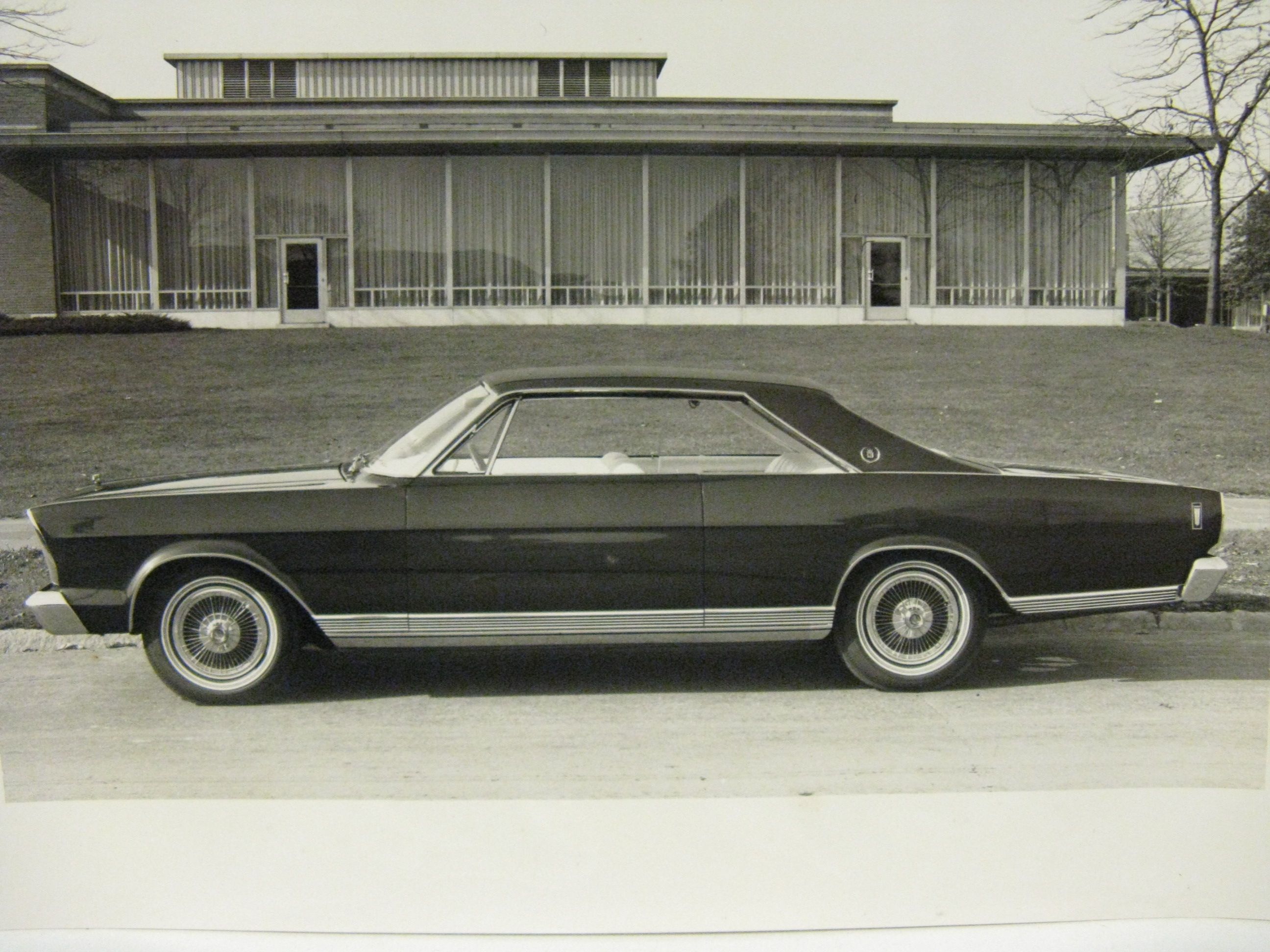 8 X 10 Black And White Glossy Photo Of Early 60 S Ford Prototype