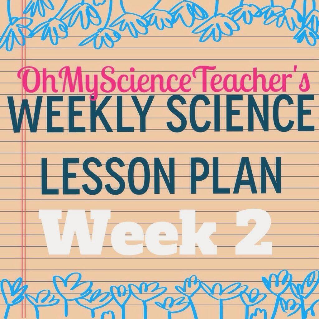 My Science Plans Week 2