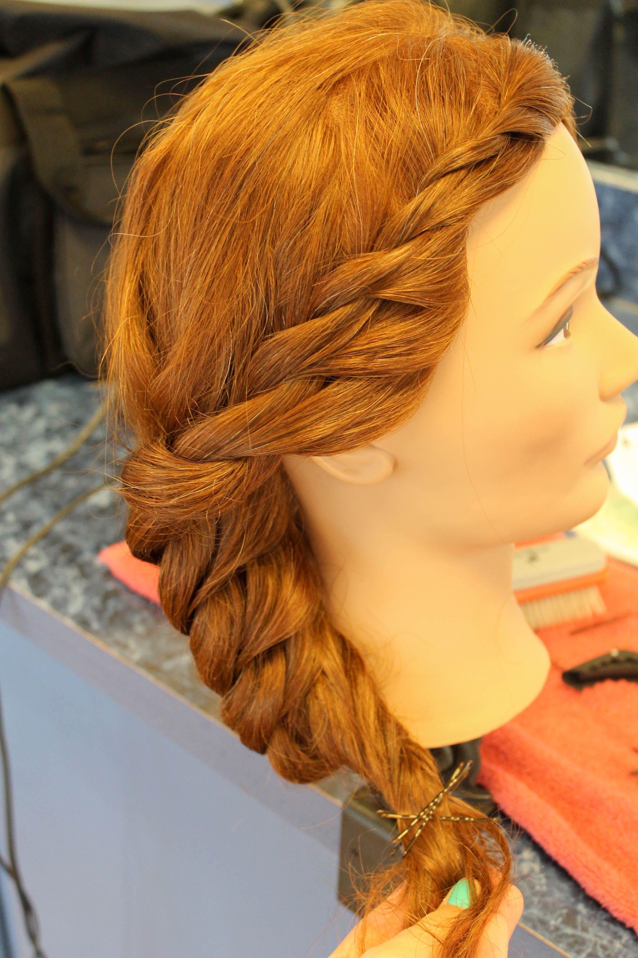 2 strand braid | 2 strand braid up dos | braids, hair styles