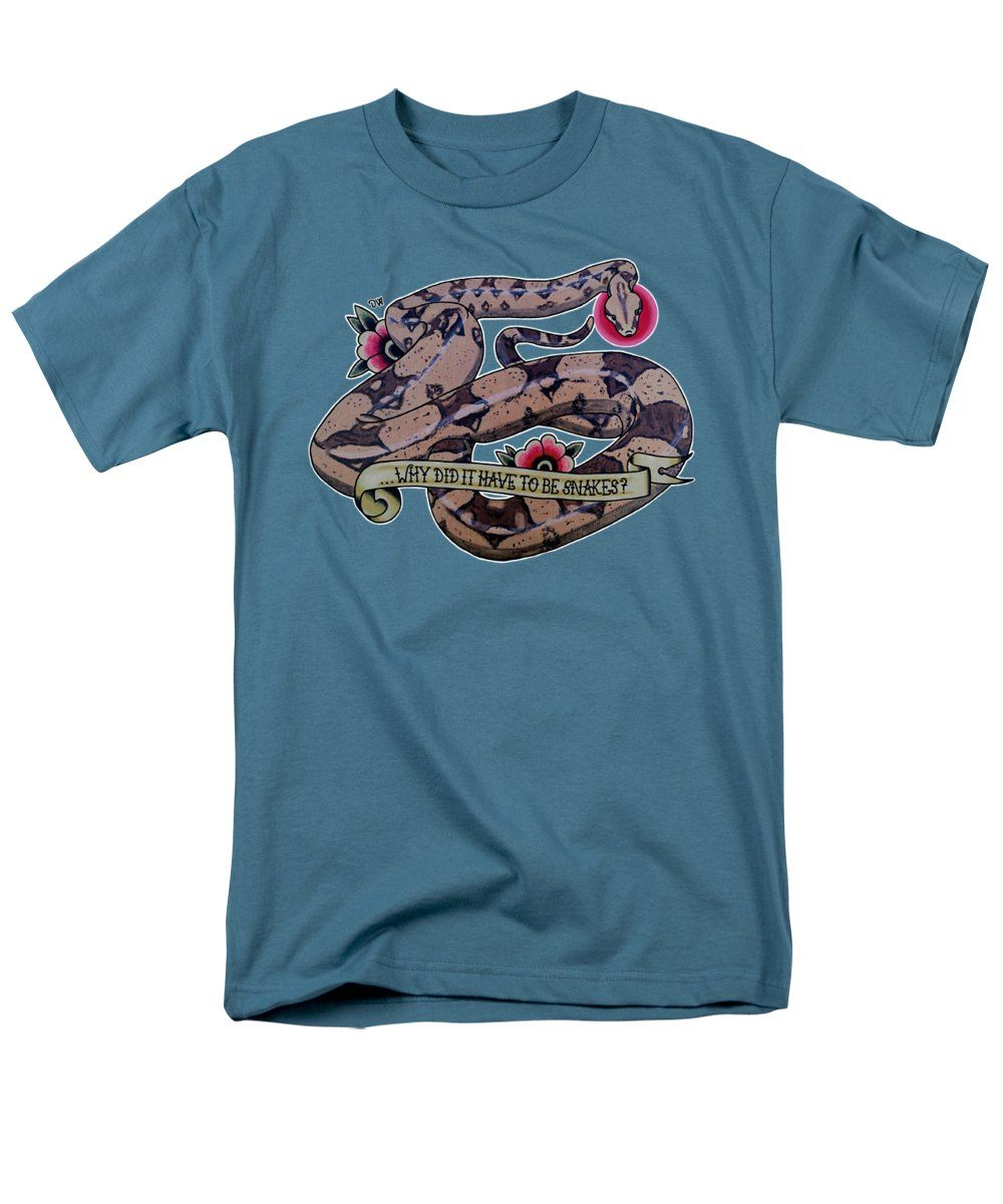Have to be Boa T-Shirt in slate blue by Donovan Winterberg.  Other shirt styles and colors also available.
